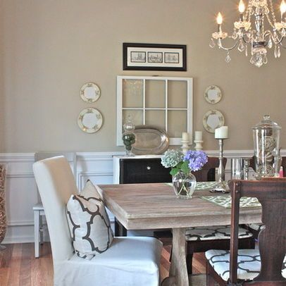 Benjamin moore bleeker beige design ideas pictures - Living and dining room paint colors ...