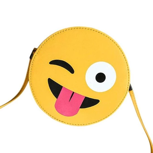 Handbag Bag Female Solid Bags For Girls Zipper Women Child Cute Emoji Emoticonintothea Bags Shoulder Bag Shoulder Bag Fashion