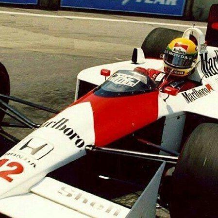 Ayrton Senna with his championship winning McLaren Mp4/4 of 1988. #SennaTheLegend #AyrtonSenna #ayrtonsennadasilva #Senna #mclarenhonda #F1 #F11988 #GP #Grandprix #Formulaone #Formula1 #F12015 #F1Legend #legends #65YearsOfF1 #McLaren #Mp4 #honda #worldchampion #champions #power #speed #motorsport