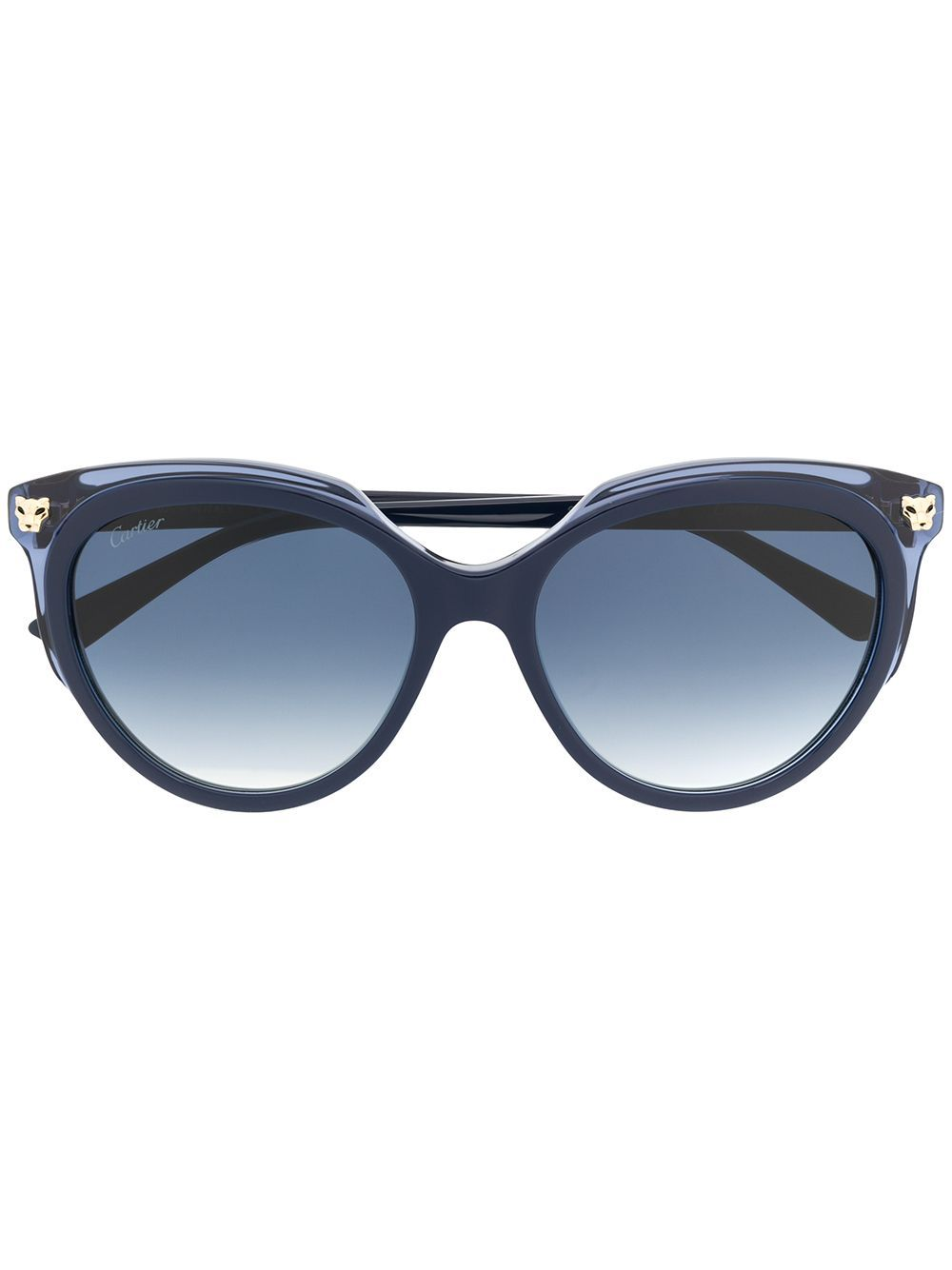 Cartier Panthere oversized frame sunglasses