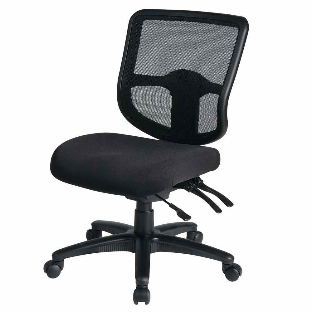 ergonomic chair without arms striped accent chairs with office task buying guide in 2018 desk barber desks