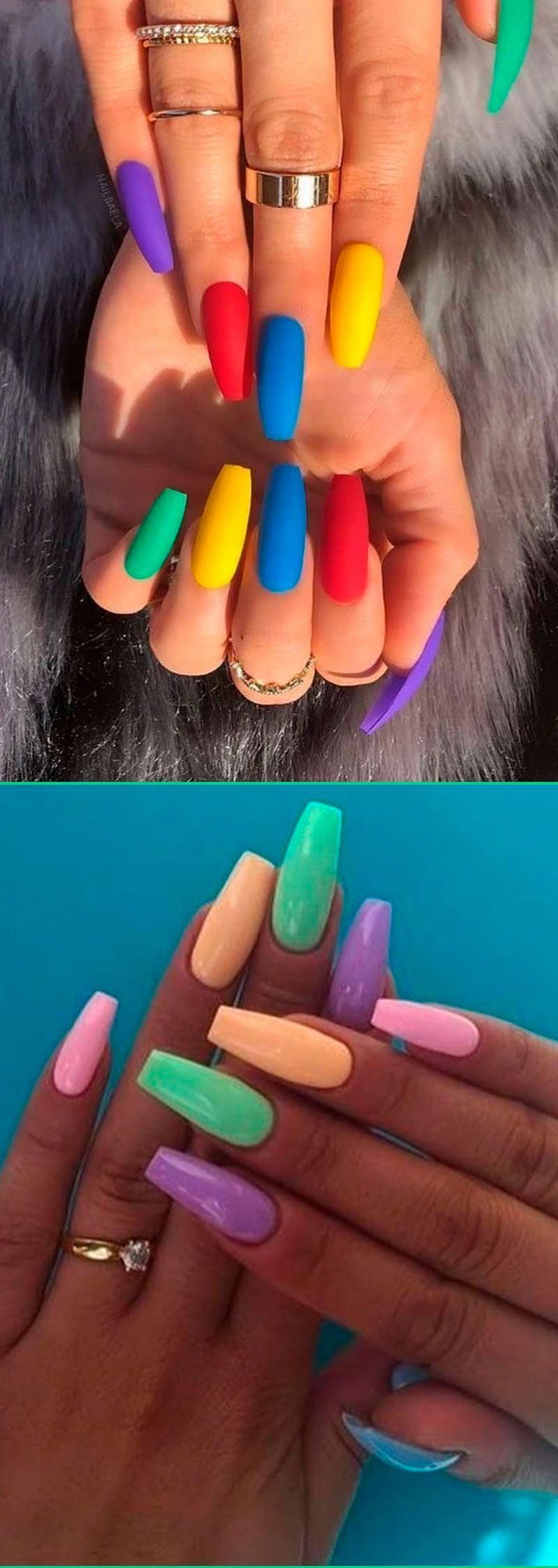 How to do gel nails at home cute summer nails