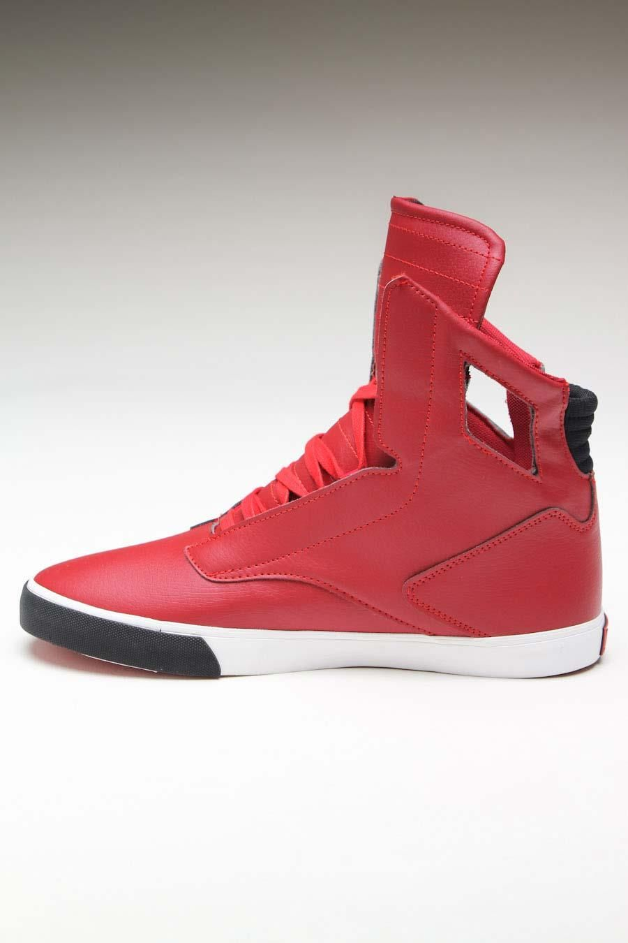 Explore Corporate Style, Men's Apparel, and more! RADII NOBLE VLC SNEAKER  RED/BLACK/WHITE