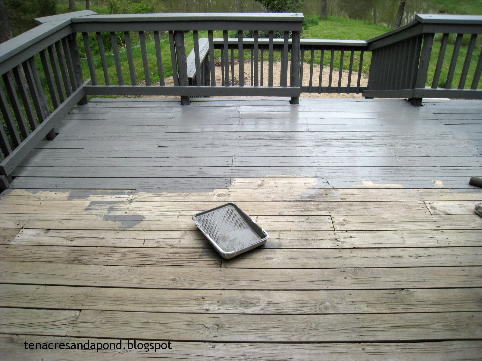 Pewter color deck outdoor pinterest pewter colour pewter pewter color deck baanklon Images