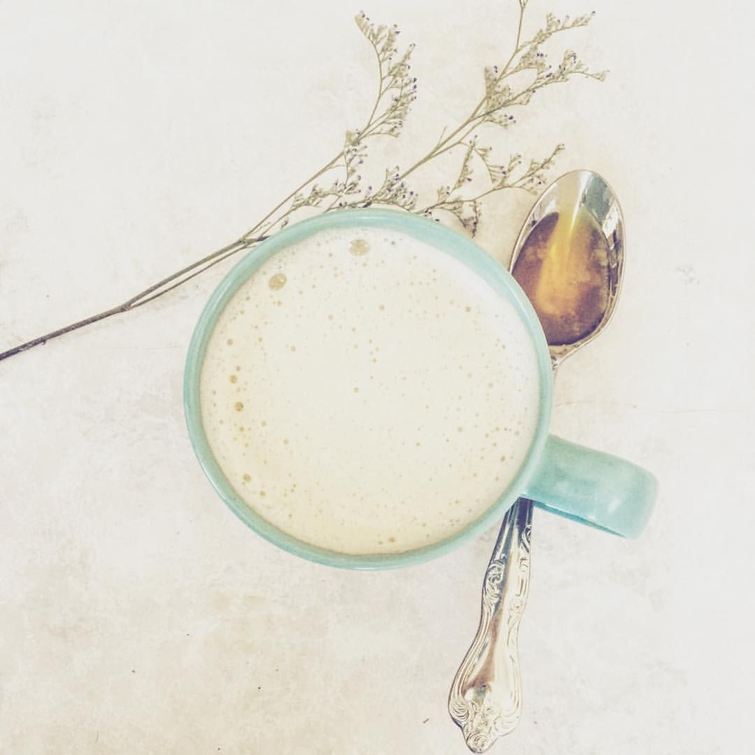 Made Myself A Relaxing Cup Of Honey Lavender Latte, Made