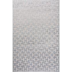 Photo of benuta Naturals Viskoseteppich Woody Hellgrau 120×170 cm – Moderner Teppich für Wohnzimmer