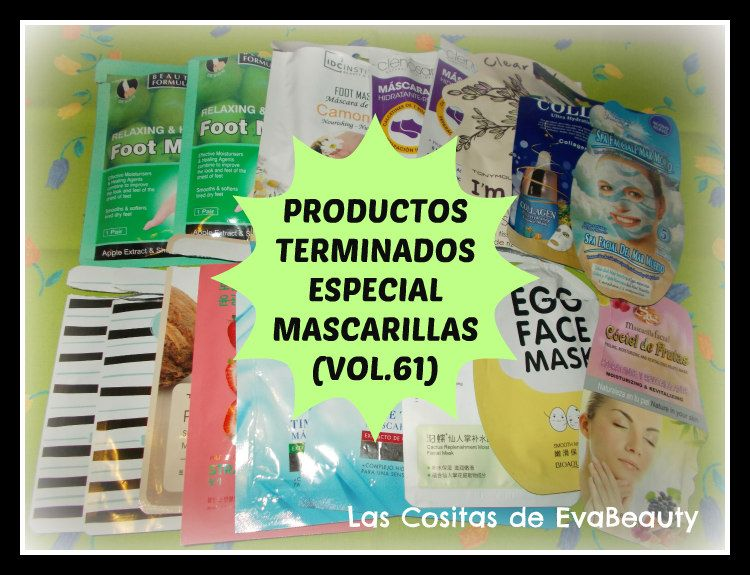Hola amores!!!!  Hoy en el blog os espero con mi opinión sobre todas estas mascarillas faciales y para pies que he terminado.  Besotes.  #lascositasdeevabeauty #beauty #belleza #mask #mascarillas #facial #face #mascarillatissu #mascarillapies #pies #foot #productosterminados #finish #acabados #terminados #emptybottles #blog #bloggers #beautyblogger #beautyaddict #bloggeraddict #bloggerespaña #bloggerbelleza #review #opinion #influencers