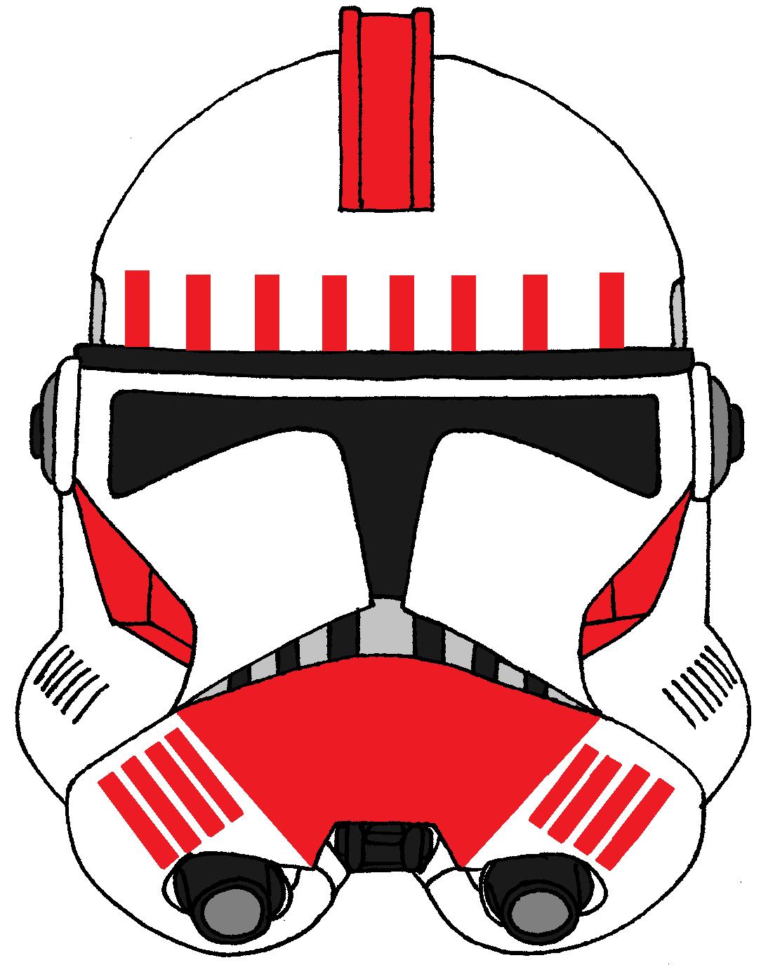 Clone Trooper Helmet Shock Troopers Phase 2 Star Wars Helmet Star Wars Clone Wars Clone Trooper Helmet