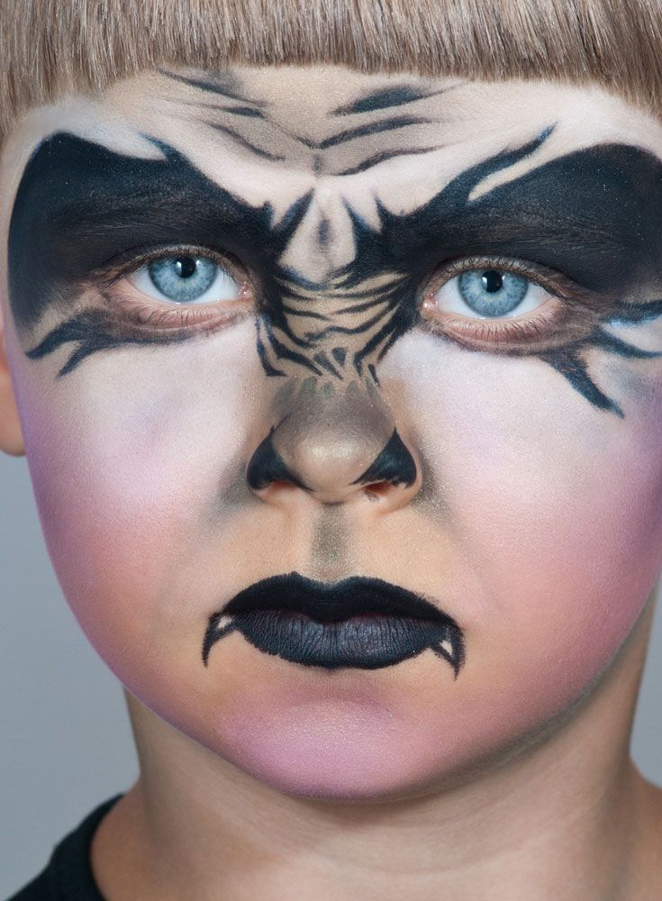 FRIGHT NIGHT! Seriously scary Halloween face painting for your kids - halloween face paint ideas scary