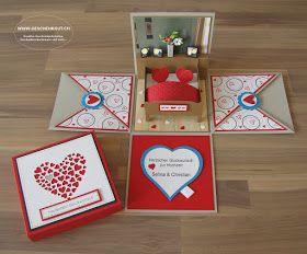 geschenkbox hochzeit bett berraschungsbox explosionsbox geschenkgutschein geldgeschenk. Black Bedroom Furniture Sets. Home Design Ideas