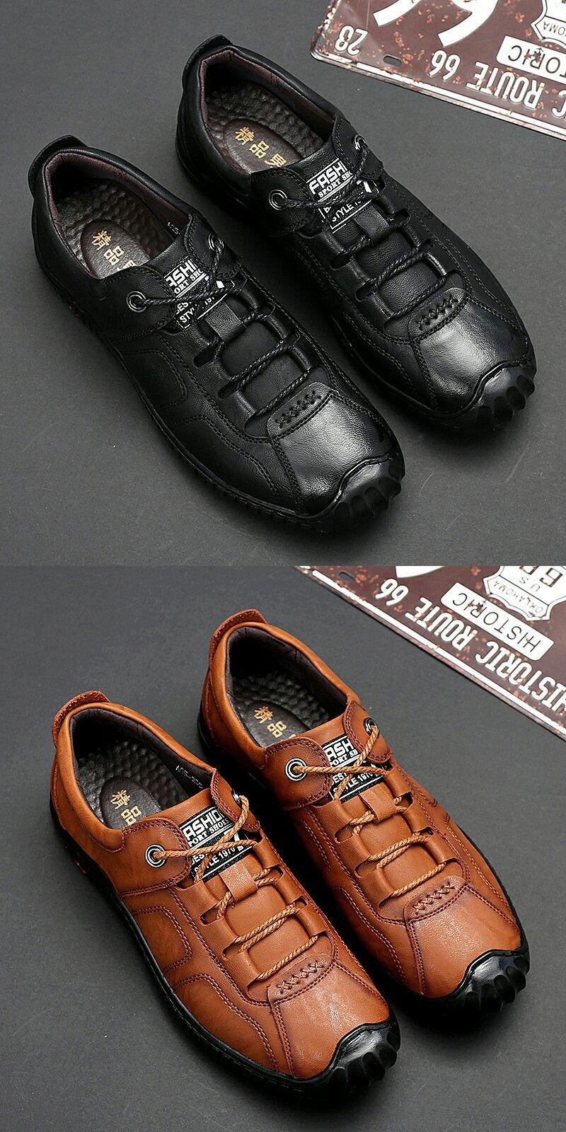 Prelesty Luxury Leather Men Dress Shoes Brogues Derbies