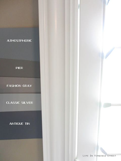 Behr Atmospheric, Behr Pier, Behr Fashion Gray, Behr ...