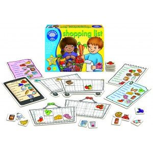 Shopping List Game - Orchard Toys Games - Puzzles & Games - Catalogue