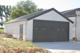 Garage En Parpaing De 20m2 Prix La Construction D Un 2018 Travaux Com Construire Un Garage Construction Garage Prix Construction Maison