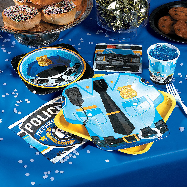 Police Party Supplies - OrientalTrading.com