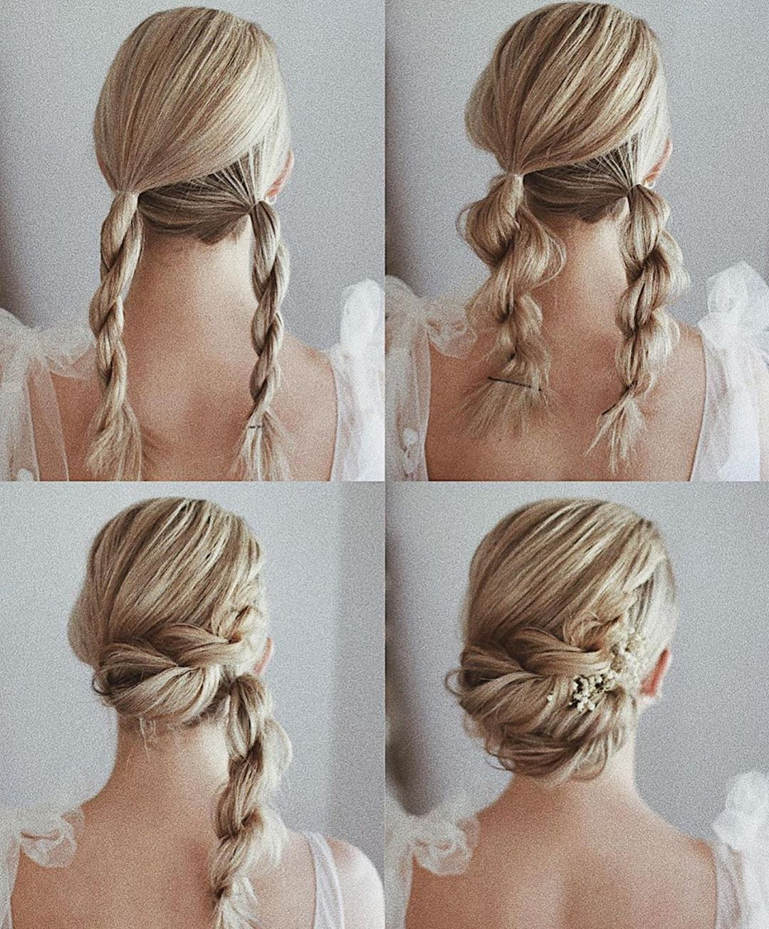 Braids Updos Inspiration On Instagram Comment Yes If You Love These Step By Step Posts From In 2020 Hair Styles Easy Homecoming Hairstyles Elegant Wedding Hair
