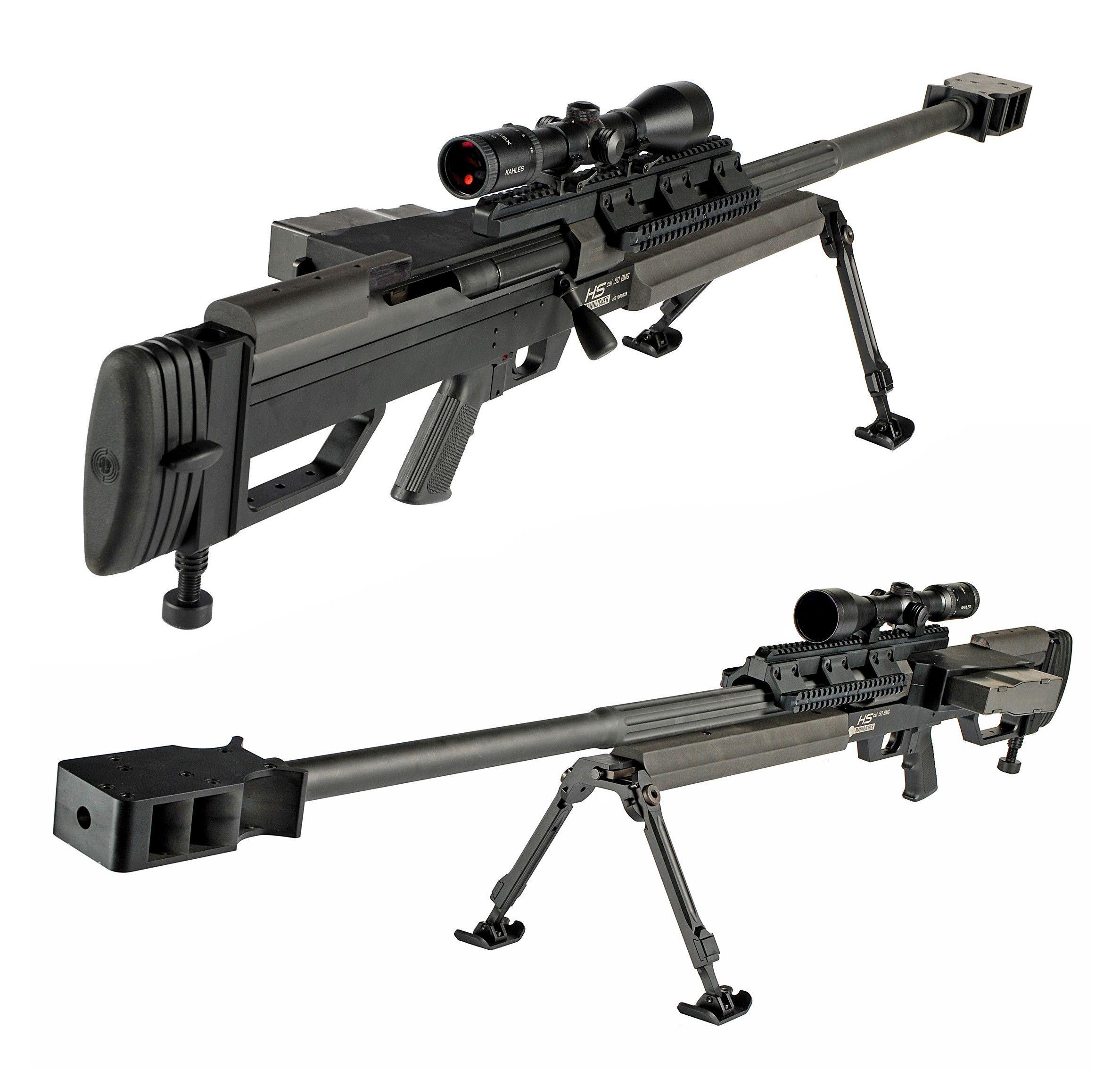 The Steyr Mannlicher 'HS  50 M1' [2376x2269] | Guns | Guns, Anti