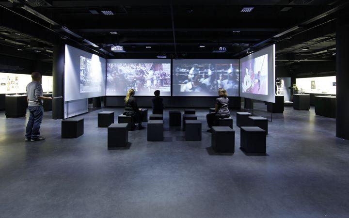 German film museum frankfurt am main atelier br ckner for Design museum frankfurt