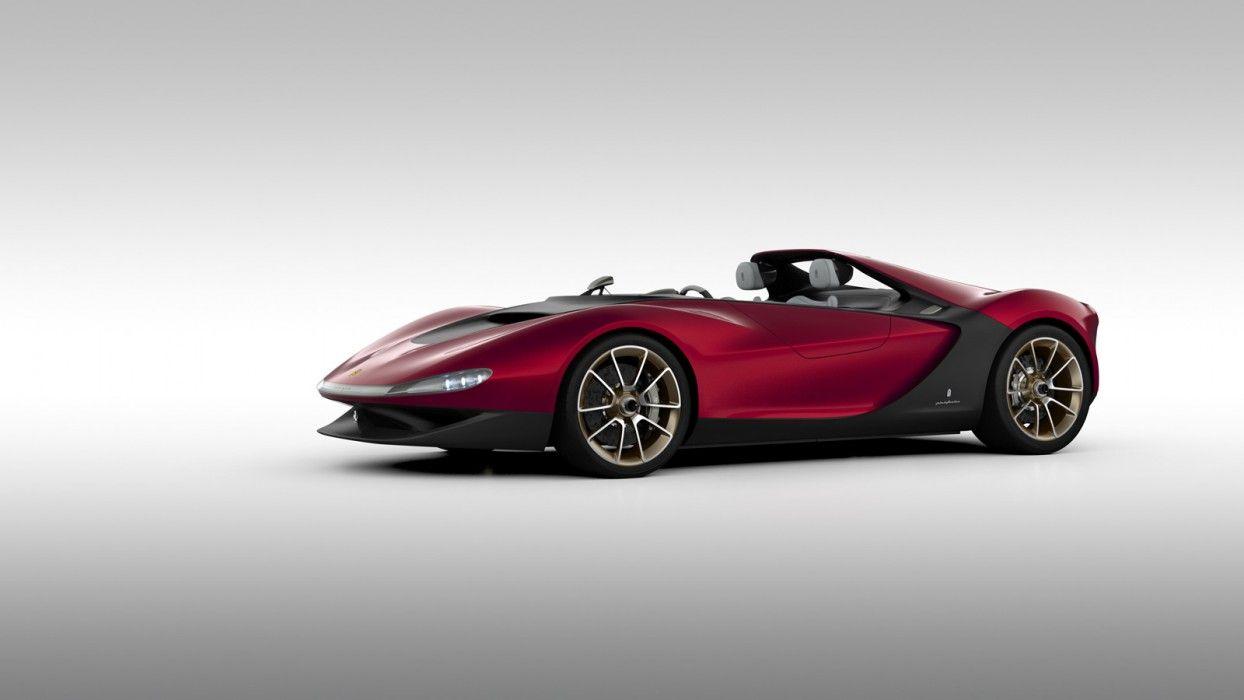 Charming Black Ferrari Concept Cars | 2013 2014 Ferrari Sergio Concept Details