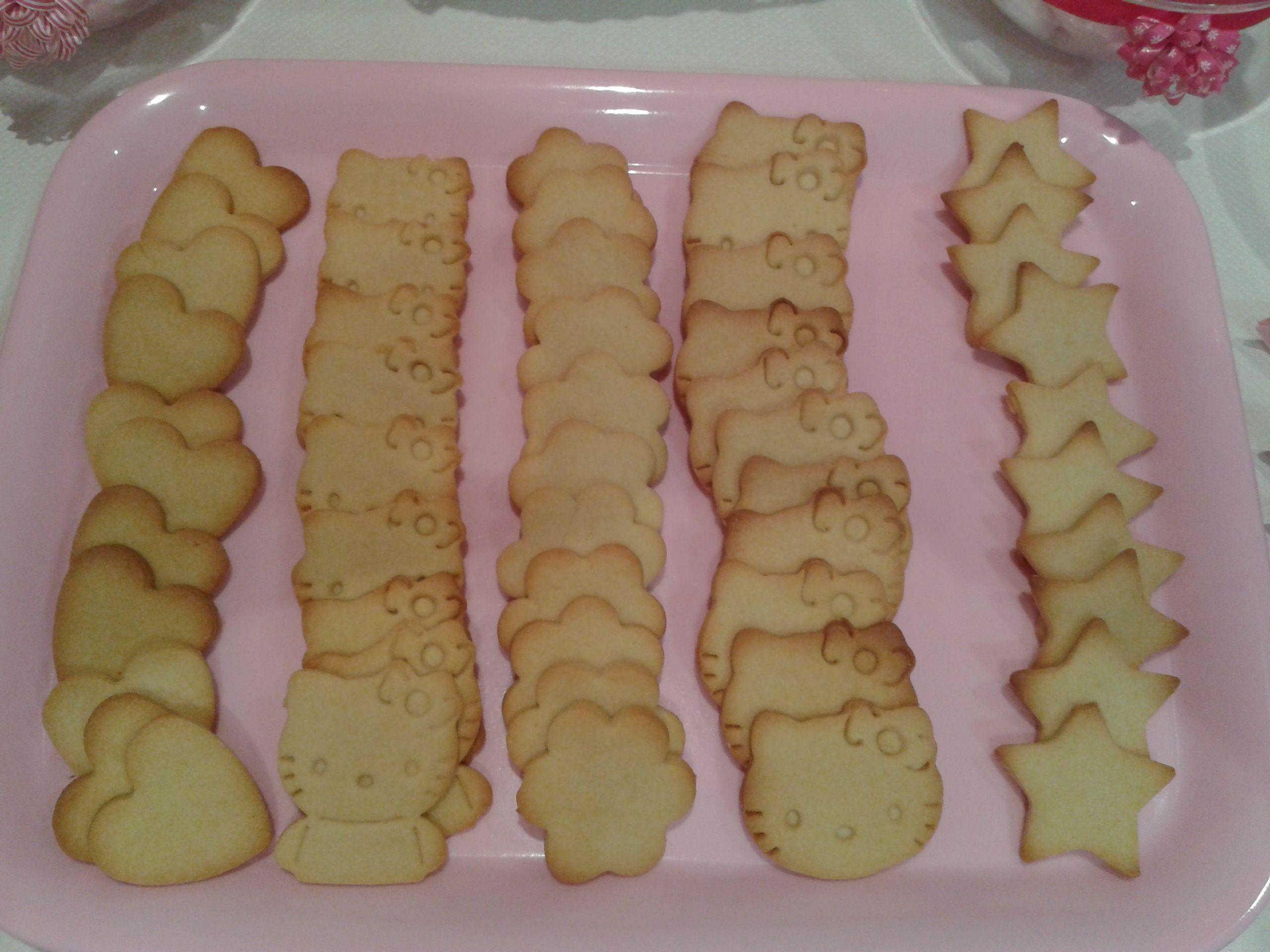 galletas de vainilla Hello Kitty