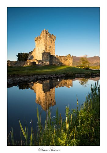 Ross Castle Killarney Co, Kerry Ireland.  I will live by this one day!