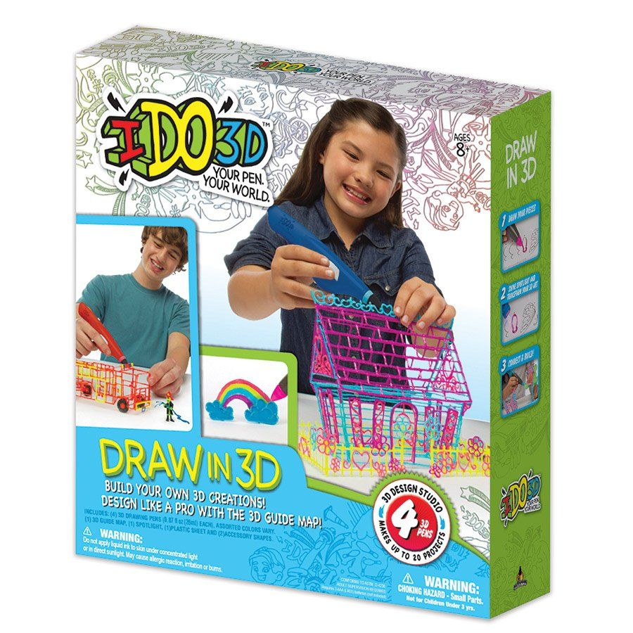 Ido3d 20 Project 3d Art Studio Toys R Us Australia