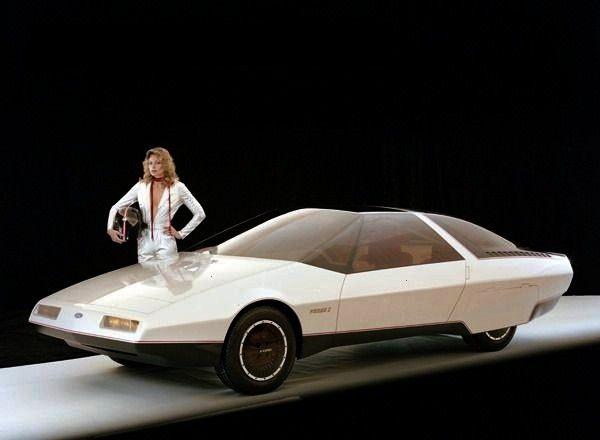 Probe I concept car, 1979. -The Ford Probe I concept car, 1979. -Ford Probe I concept car, 1979. -T