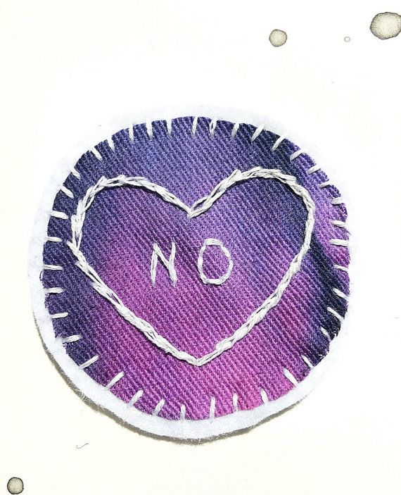 No Feminist Patch Embroidered Patch Tumblr Patches Patch Sew