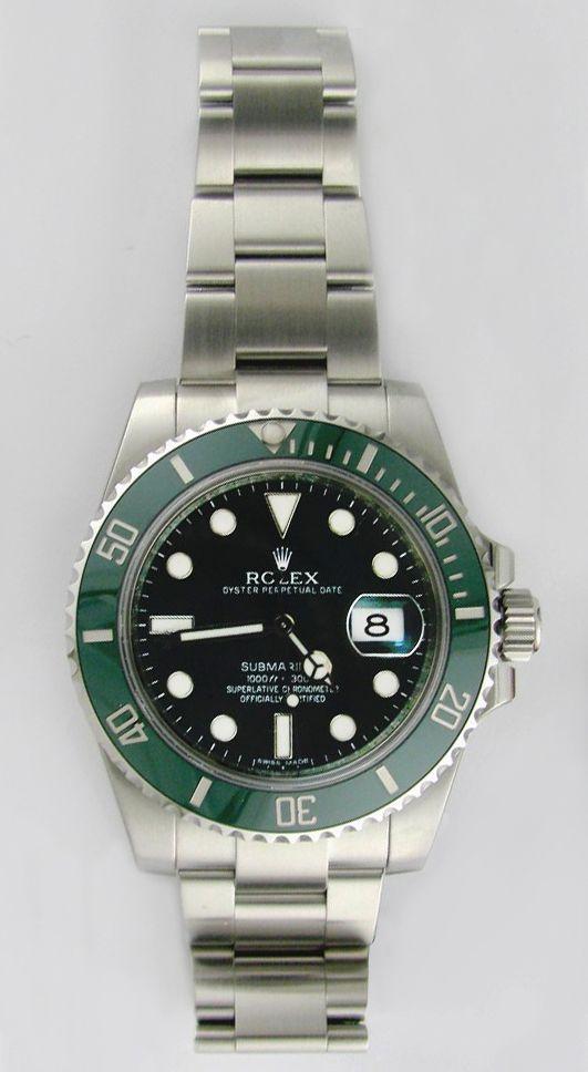 Rolex Submariner 116610lv With Green Ceramic Bezel Swisswatchdealers