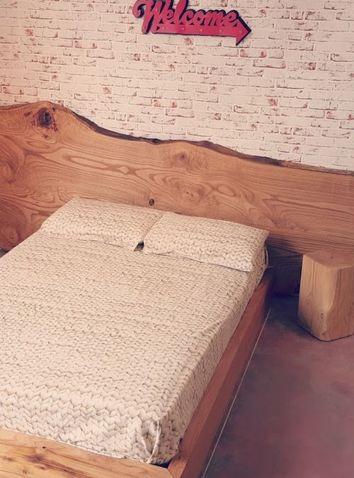 Letto matrimoniale Natura, un letto assolutamente unico ed ...