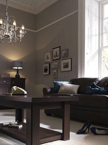 Brown And Gray Brown Living Room Decor Brown Living Room Living Room Colors