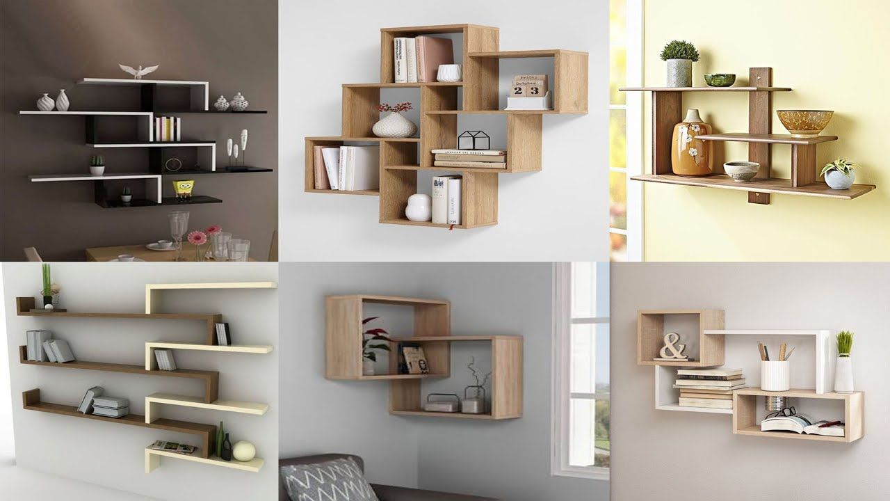 corner wall shelves design ideas