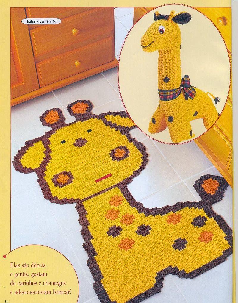Croche pro Bebe: Tapetes infantil,achados na net