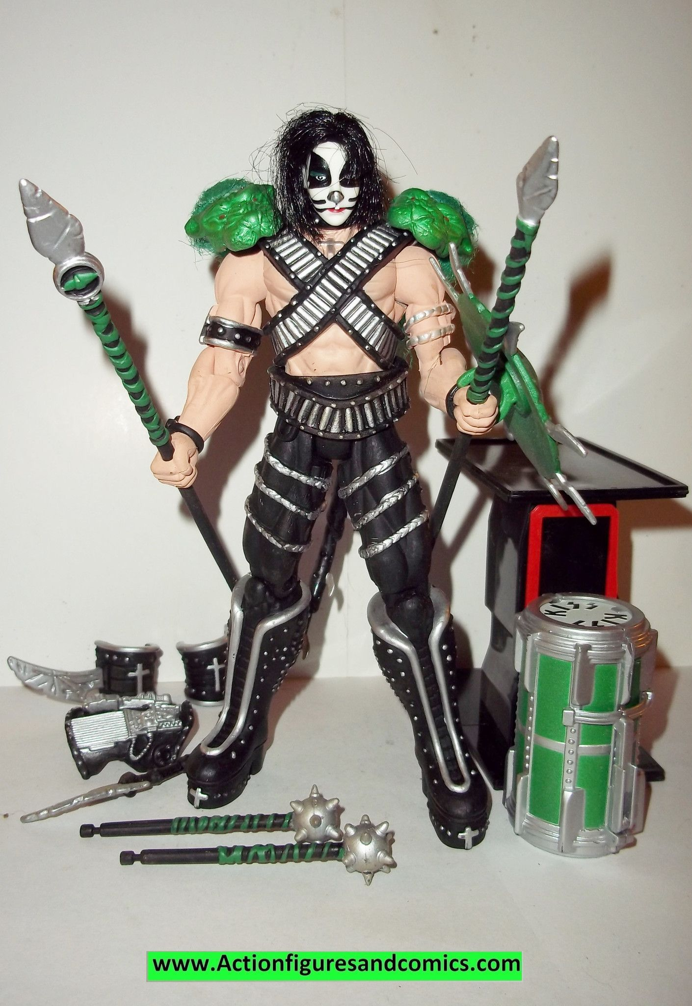 Spawn Kiss Action Figures Peter Criss 1997 Complete Todd Mcfarlane