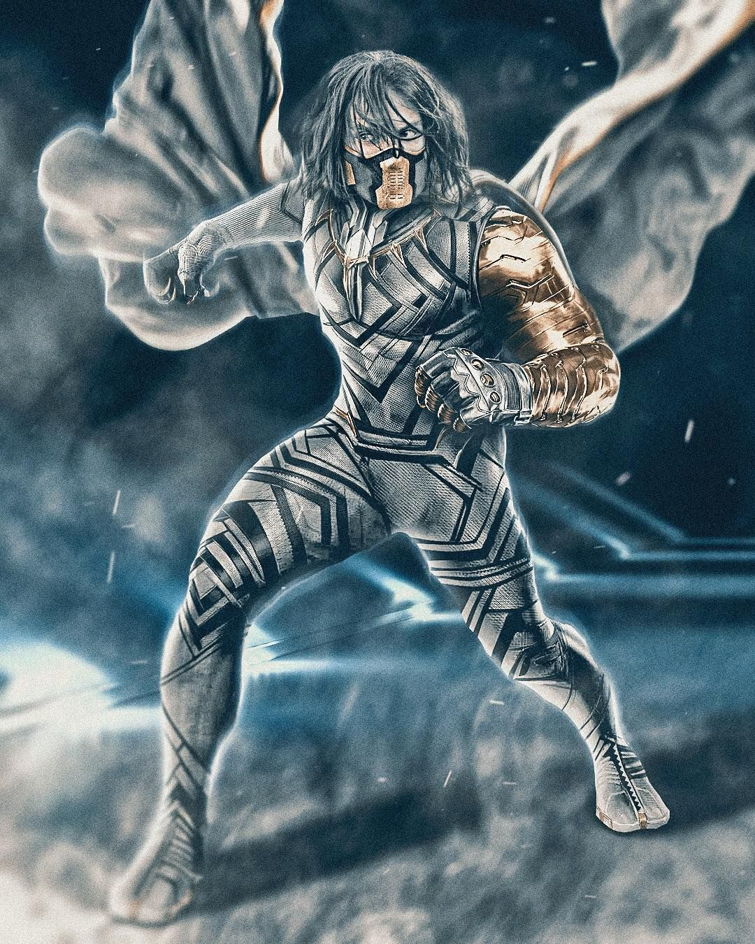 White Wolf x Bucky x Black Panther mashup | #vibranium