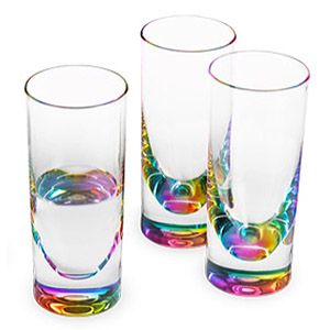 Rainbow Tumblers Acrylic Glassware That Does Not Sweat Made By Merritt International Rainbow Kitchen Moma Store Tumbler