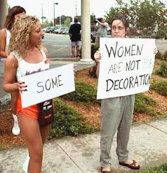 Are not decoration hooters women