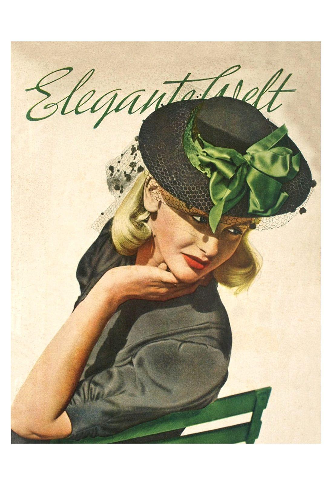 Elegante Welt - Germany, 1930's
