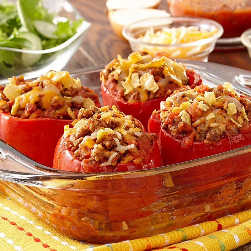 Mexican Stuffed Peppers Recipe Stuffed Peppers Recipes Mexican Stuffed Peppers