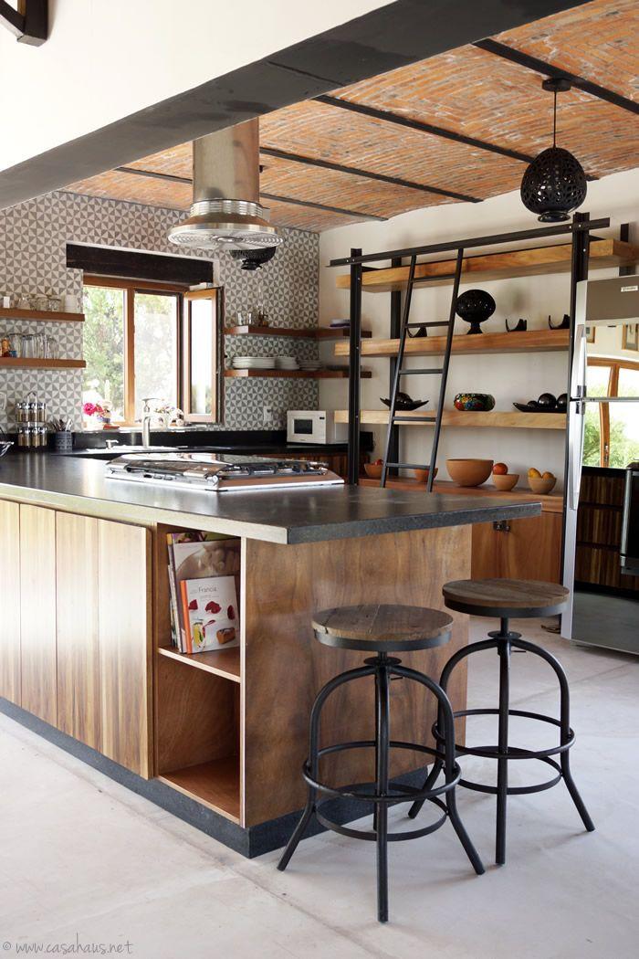 Renovación de cocina estilo rústico industrial   Kitchens ...