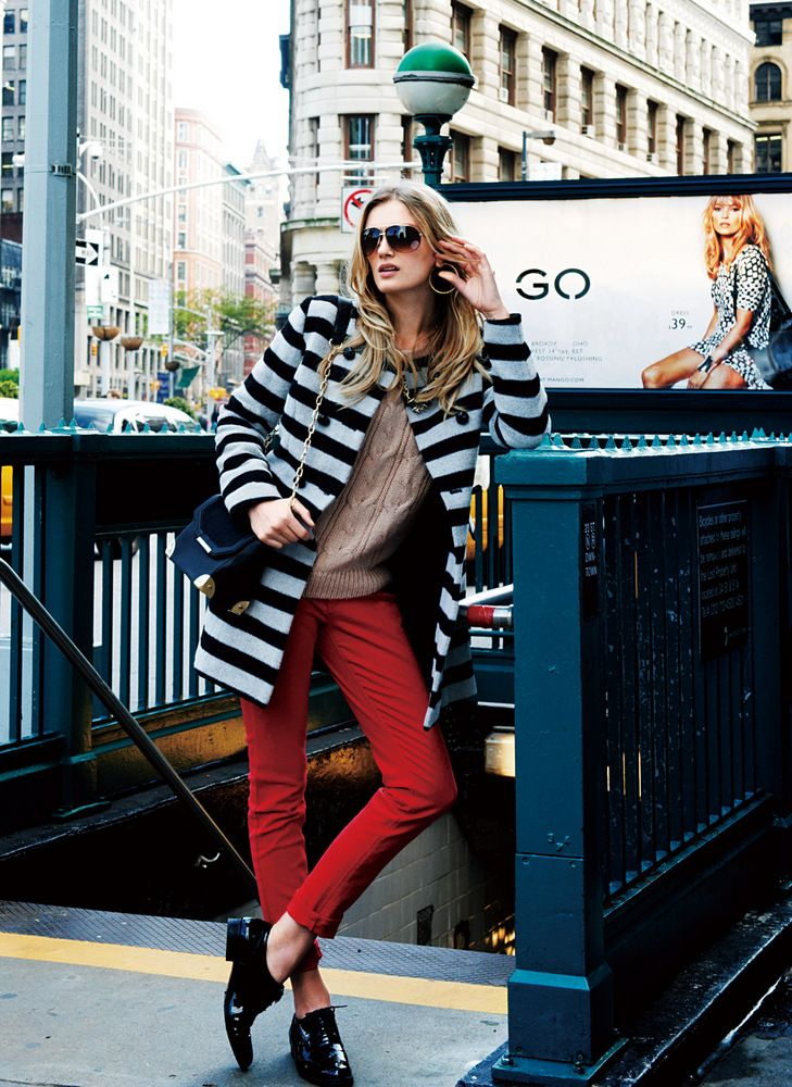 Lily Donaldson & Cara Delevingne for Goelia Travel Collection Winter 2012