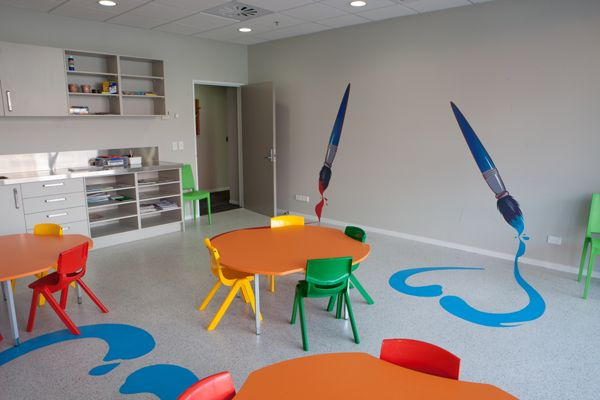 Childrens Art Room Ronald McDonald House Wellington