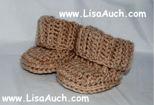 My Favourite Free Crochet Patterns for Baby Booties | Crochet for ...