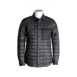 The must-have piece of clothing for changeable weather. Worn as an overshirt or as part of a layering system, this versatile,  windproof PrimaLoft® insulated piece gives you the flexibility to roll with the atmospheric changes.· Windproof Pertex® DWR outer· Teflon treated Portuguese wool blend details· PrimaLoft® Silver Insulation Hi-Loft· Pertex® Microlight ECO lining