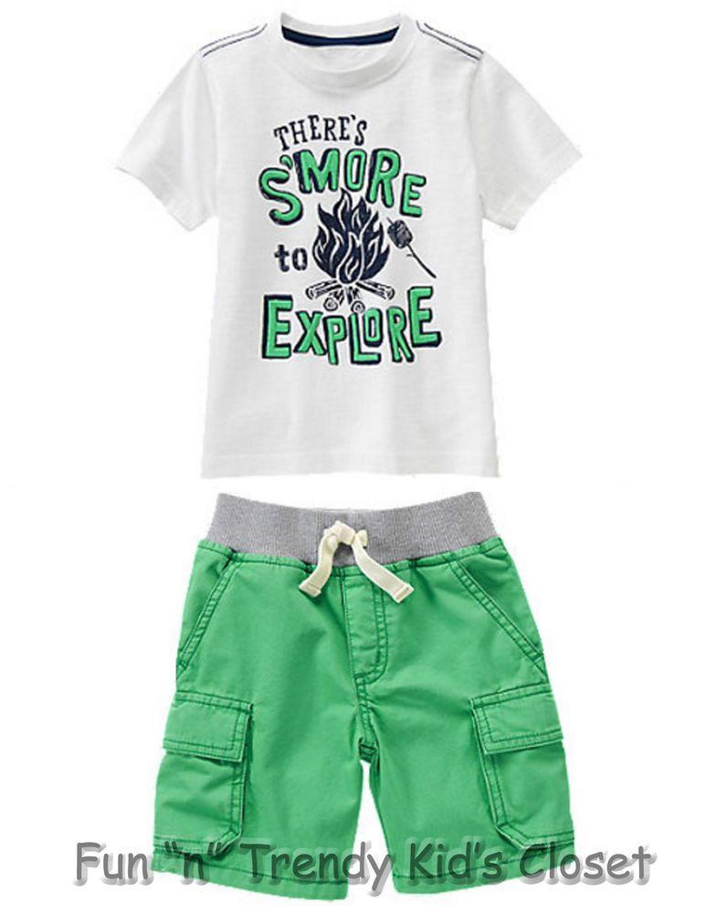 NWT Gymboree BACKYARD EXPLORER Boys Size 3T or 4T Shorts ...