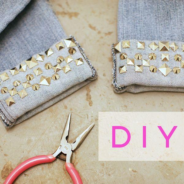 DIY Fest: Studded Cuffs