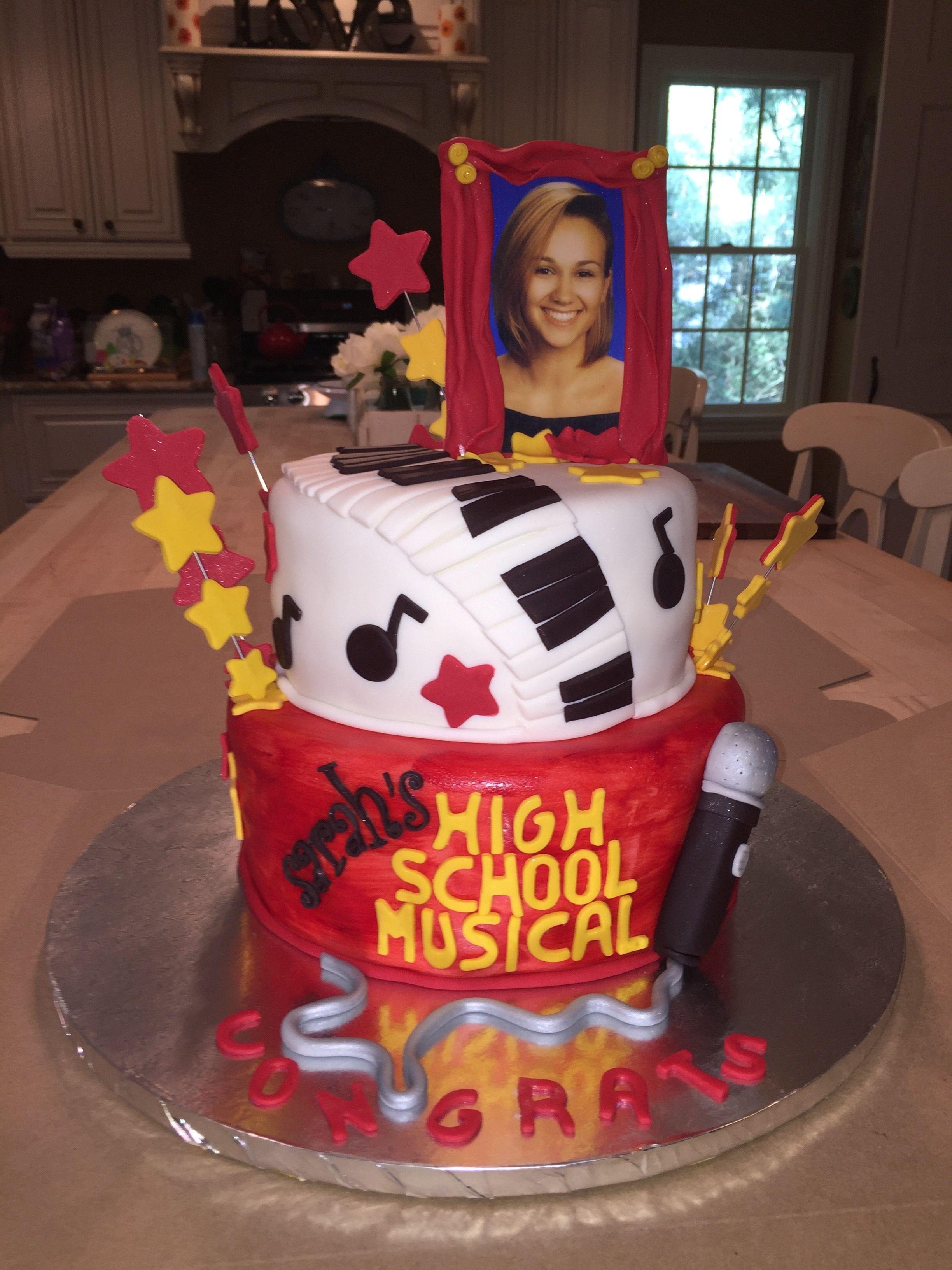 High School Musical Cake Graduation Senior Yearbook Ideas My