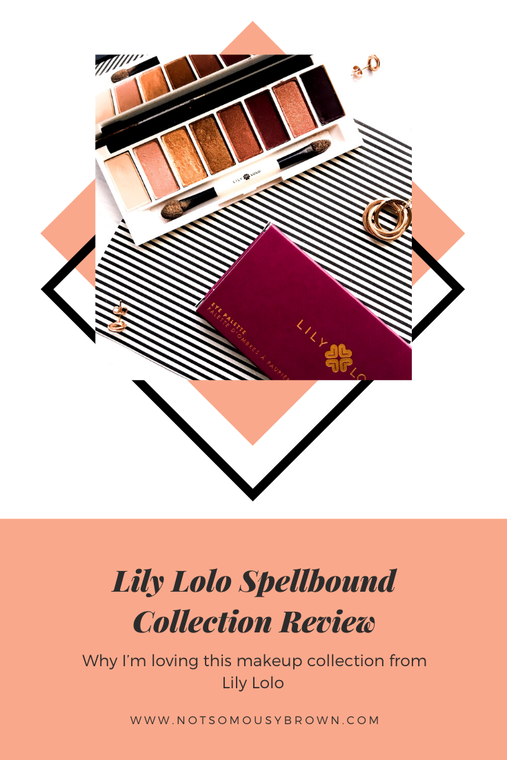 Lily Lolo Spellbound Collection Review NotSoMousyBrown