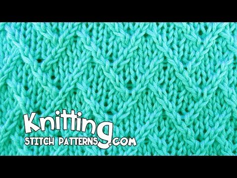 Knitting Stitch Patterns Twisted Knitting Stitches Video I Ile