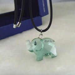 Swarovski Crystal Mini Elephant Pendant 680520